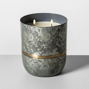 Hearth And Hand Magnolia Galvanized Harvest Candle